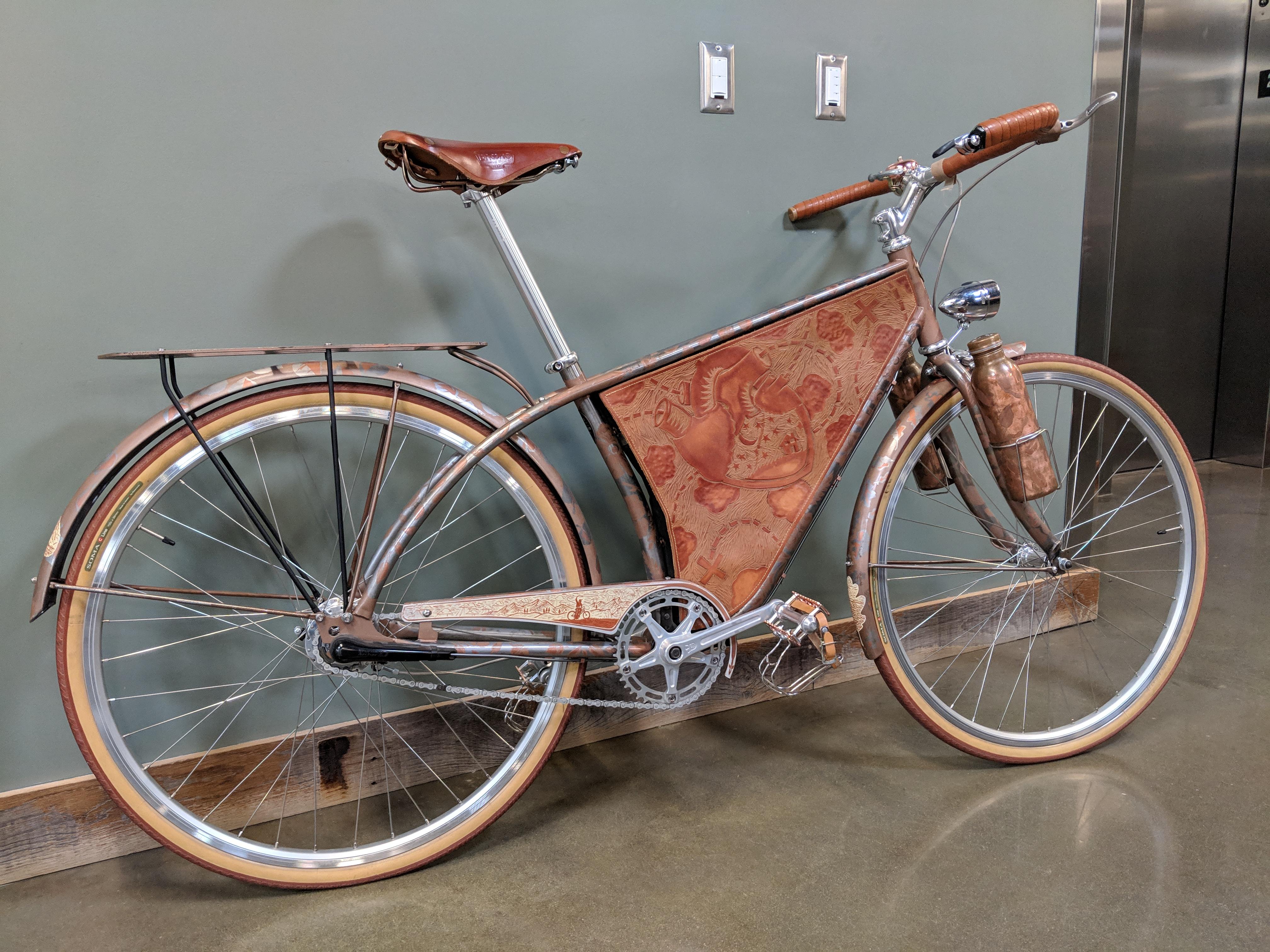 Tout un vélo!